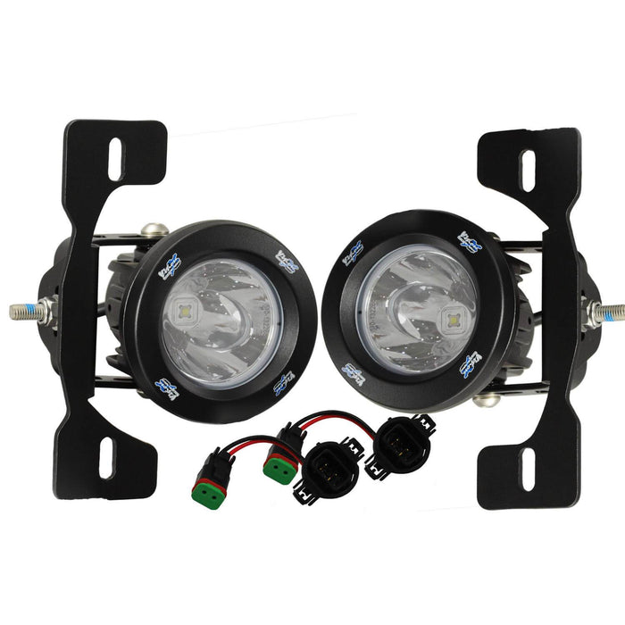 2013-2017 Jeep JK X Fog Light Kit (with XIL-OPR120)