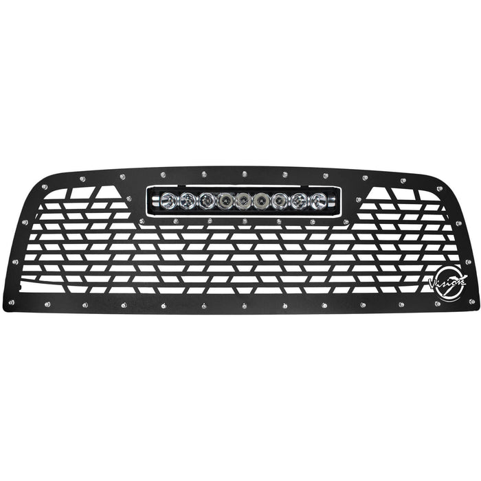 2013-2019 Dodge Ram 2500/3500 Light Bar Grille (with XPR-9M Light)