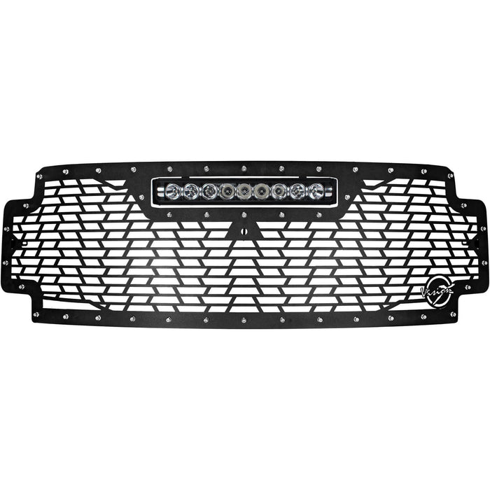 2017-2019 Ford Super Duty Light Bar Grille (with XPR-9M Light)