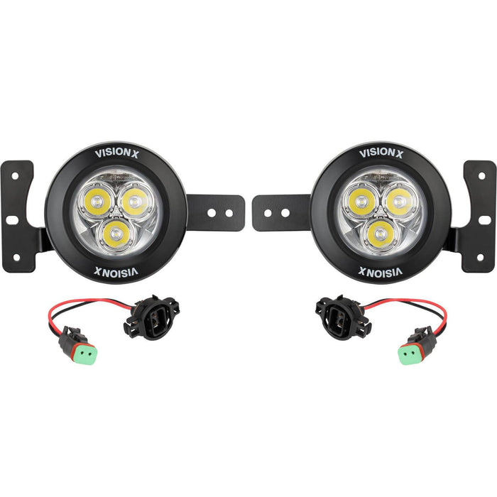 2018-2019 Jeep JL Factory Upgrade Bracket Kit (with CG2-CPM310 Lights)