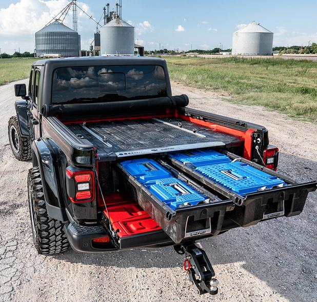 Decked Jeep Gladiator 2020-Current MJ1