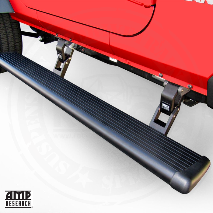 AMP Research 75135-01A PowerStep Electric Running Boards for 2020 Jeep Gladiator, Excludes Diesel Applications (Incl 4 Motors)