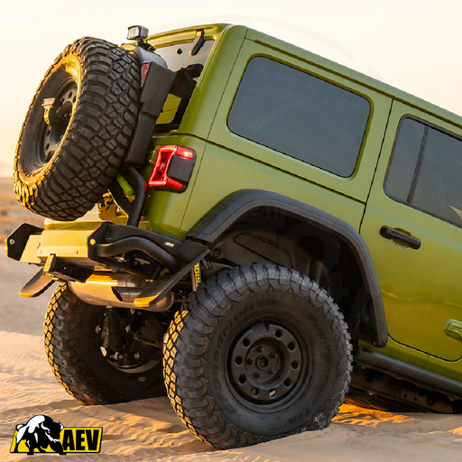 AEV Rear Bumper & RX Tire Carrier for 2018+ JEEP Wrangler JL - AEV30417AB