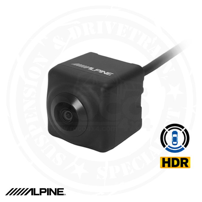 ALPINE Multi-View High Dynamic Range (HDR) Rear View Backup Camera - HCE-C2100RD