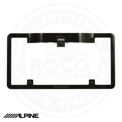 ALPINE License Plate Mounting Kit - KTX-C10LP