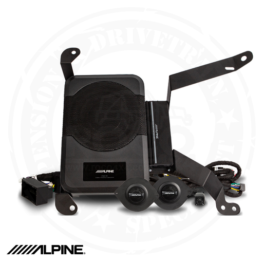 ALPINE Powered System Upgrade for 2018-Up Jeep Wrangler Unlimited JL - PSS-23WRA