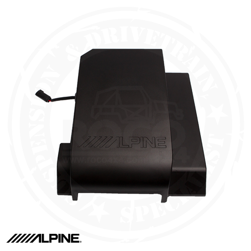 "ALPINE Pre-Loaded 10"" Subwoofer for 2007-2018 Jeep Wrangler JKU - SBV-10-WRA"