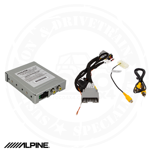 ALPINE Factory Radio Camera Interface with Active Guide Line System for Jeep Wrangler JK - SGS-CH01