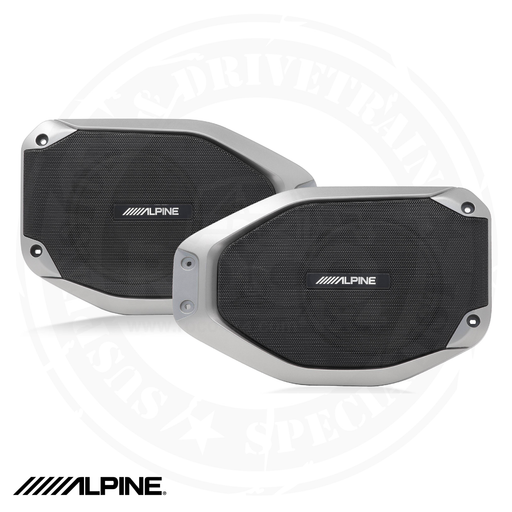 ALPINE Weather-Resistant Sound bar Upgrade Kit for Jeep Wrangler and Gladiator (PAIR) - SPV-65-JLT