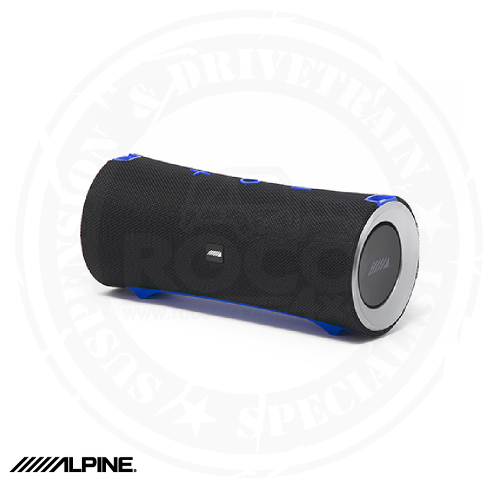 Alpine Turn1 Waterproof Bluetooth Speaker with Universal Mounting Bracket Package - AD-SPK1PRO