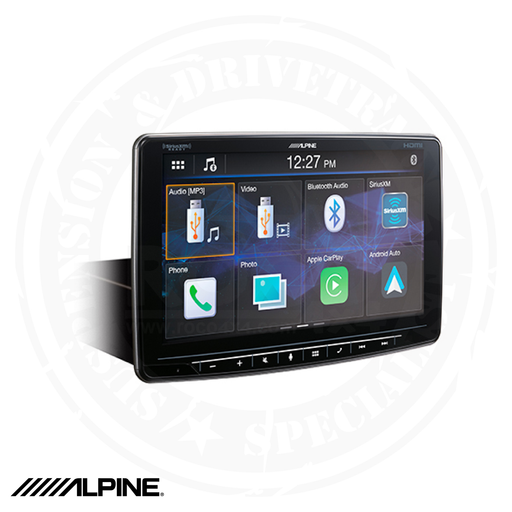 ALPINE Alpine Halo9 Multimedia Receiver with 9-inch Customizable Touchscreen Display - ILX-F409
