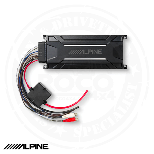 ALPINE KTA-30MW Mono Weather Resistant Tough Power Pack Amplifier - KTA-30MW