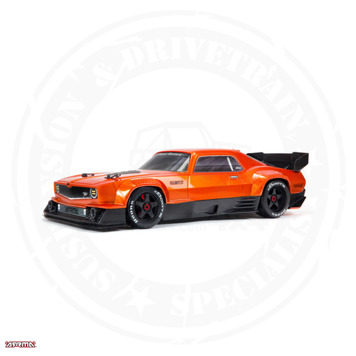 ARRMA 1/7 Felony 6S BLX Street Bash All-Road Muscle Car RTR, Orange
