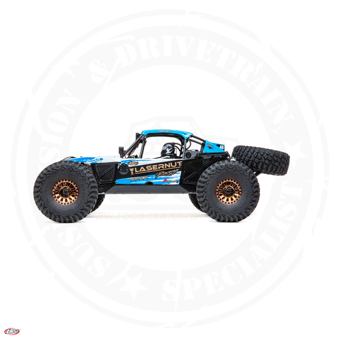 LASERNUT 1/10 U4 4WD Brushless RTR with Smart ESC - LOS03028T1, LOS03028T2