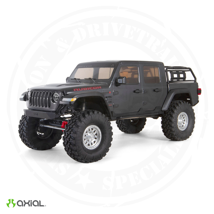 Axial SCX10-III Jeep JT Gladiator w/Portals 1/10th RTR Gray - AXI03006T1