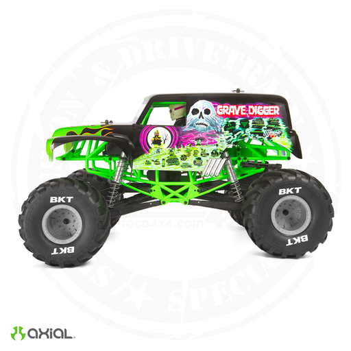 Axial SMT10 Grave Digger 1/10th 4wd Monster Truck RTR - AXI03019