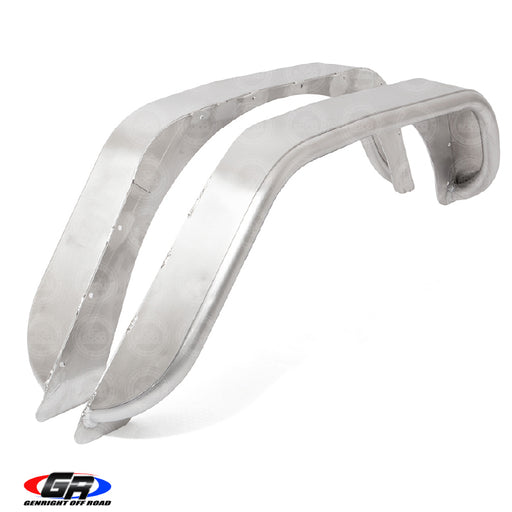 Jeep JK Rear Tube Fender Flare 4 inch Aluminum GenRight