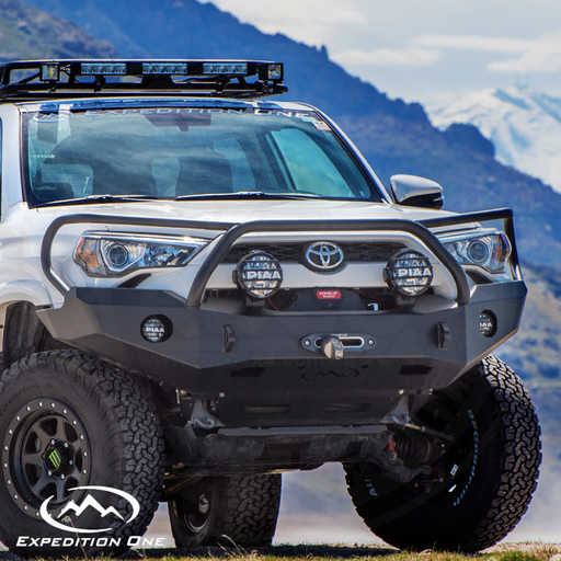 Expedition One Trail Series Front Bumper (14+) 4Runner 5th Gen - 4R14+FB, 4R14+FB-PC, 4R14+FB-H-BARE, 4R14+FB-H-PC, 4R14+FB-BB-BARE, 4R14+FB-BB-PC