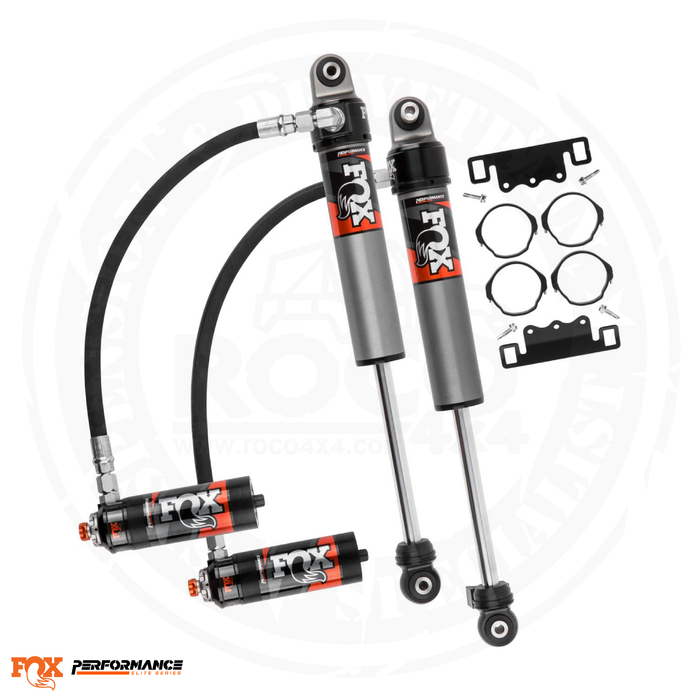 Fox Performance Elite Series 2.5 Reservoir Front Shock (Pair) - Adjustable - 883-26-051