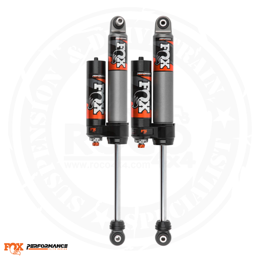Fox Performance Elite Series 2.5 Reservoir Rear Shock (Pair) - Adjustable - 883-26-053