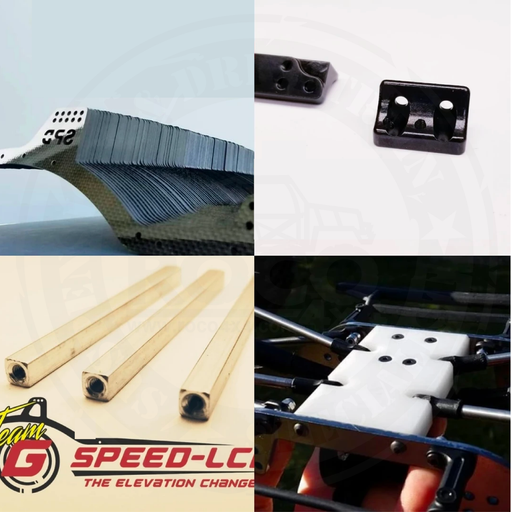 GSPEED Chassis Element Enduro carbon fiber TGH-V3 package deal - TGH-V3