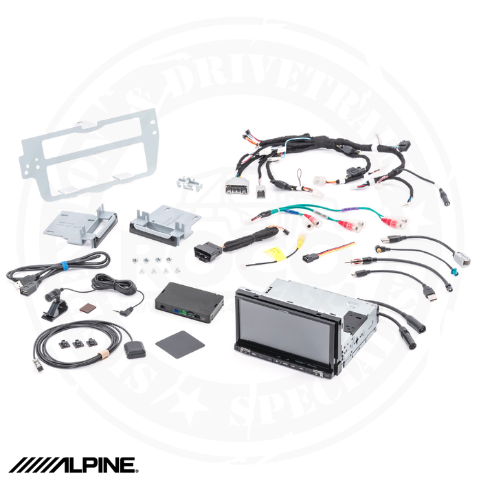 "ALPINE 7"" Restyle Mech-Less In-Dash System For Jeep® Wrangler JK"