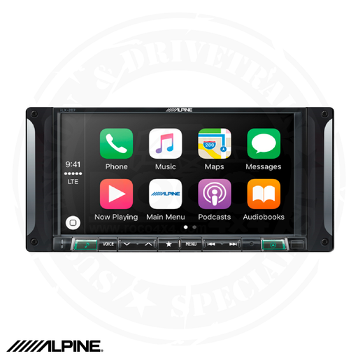 "ALPINE 7"" Restyle Mech-Less In-Dash System For Jeep Wrangler JK - I207-WRA"