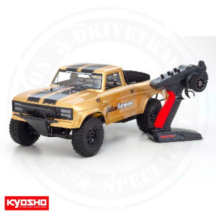 Kyosho Outlaw Rampage Pro RED & GOLD	- 34363T1, 34363T2