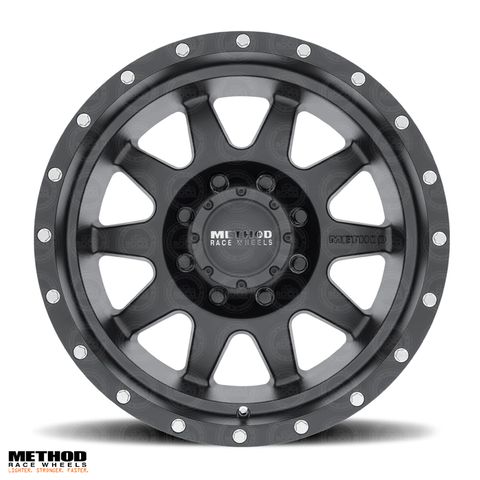 Method Race Wheels - 301 | The Standard | Matte Black