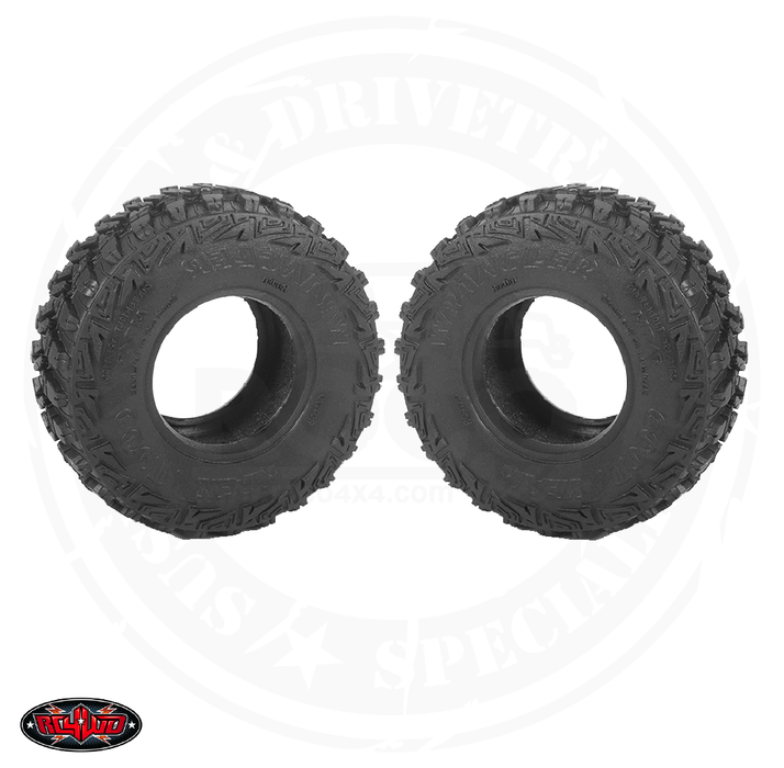 "RC4WD Goodyear Wrangler MT/R 1.0"" Micro Scale Tires - Z-T0161"