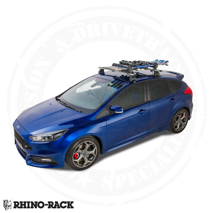 RHINO-RACK Ski and Snowboard Carrier - 4 Skis or 2 Snowboards - 574