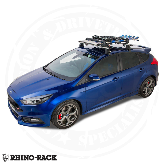 RHINO-RACK Ski and Snowboard Carrier - 6 Skis or 4 Snowboards - 576