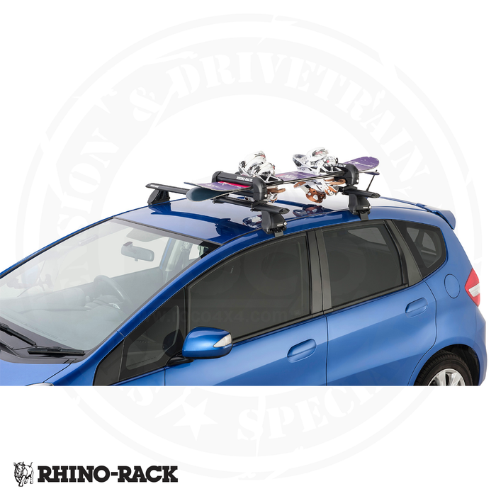 RHINO-RACK Ski And Snowboard Carrier (3 Skis or 2 Snowboards - 573