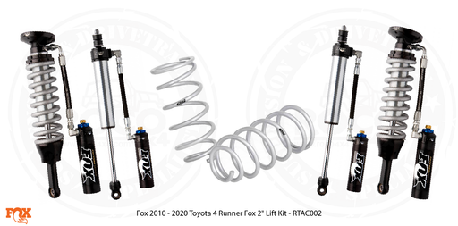 "FOX 2010 - 2020 Toyota 4 Runner Fox 2"" Lift Kit - RTAC002"