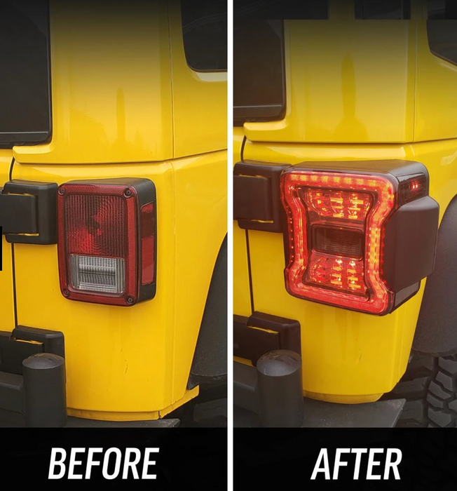 American Modified JK to JL Conversion Tail Lights (07-18 Wrangler JK/ JKU)
