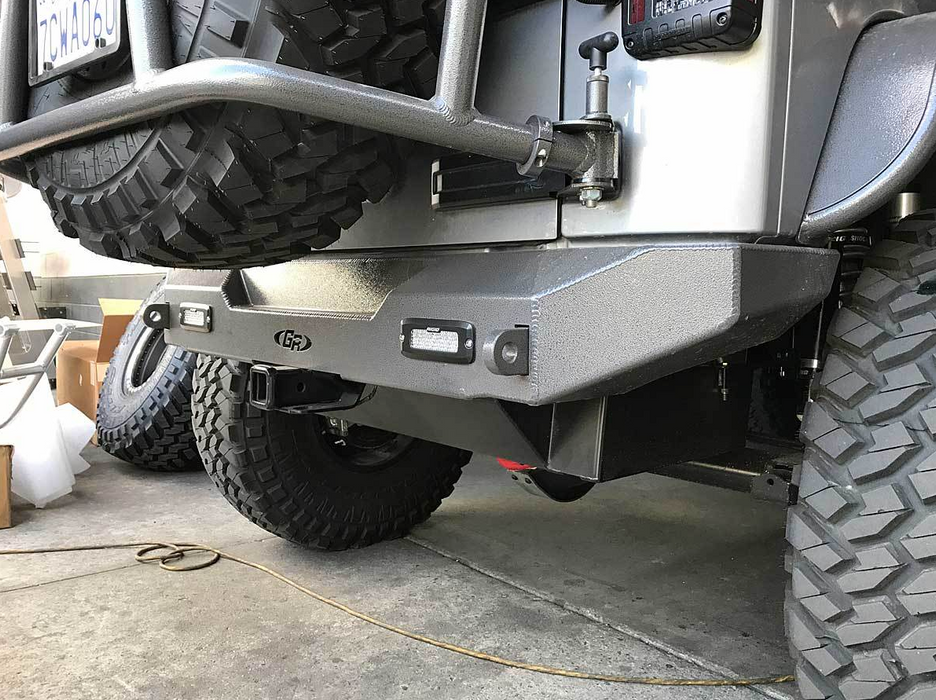 Jeep JK Rear Bumper Aluminum GenRight