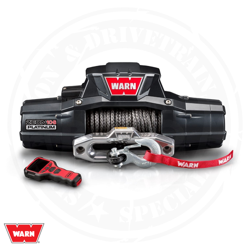 WARN Zeon 10-S Platinum Winch - 92815