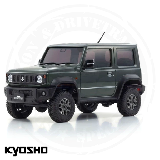 Kyosho - Mini-Z 4X4 Suzuki Jimny Sierra Jungle Green Ready Set - KYO32523GR