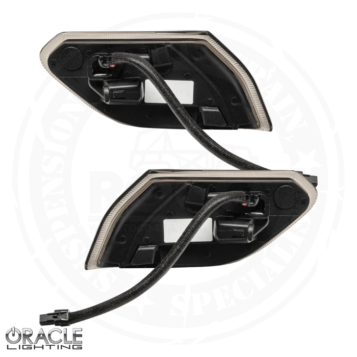 "Oracle Jeep Wrangler JL ""Smoked Lens"" LED Front Sidemarkers - 5853-504"