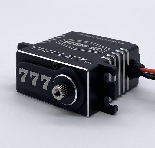 Reef's RC Triple7 14V High Torque High Speed Brushless Programmable Servo - SEHREEFS777