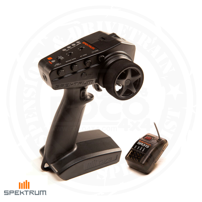 SPEKTRUM DX3 Smart 3-Channel Transmitter with SR315 Receiver - SPM2340