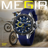 MEGIR - Sport Accurate Timekeeping Men Wrist Watches