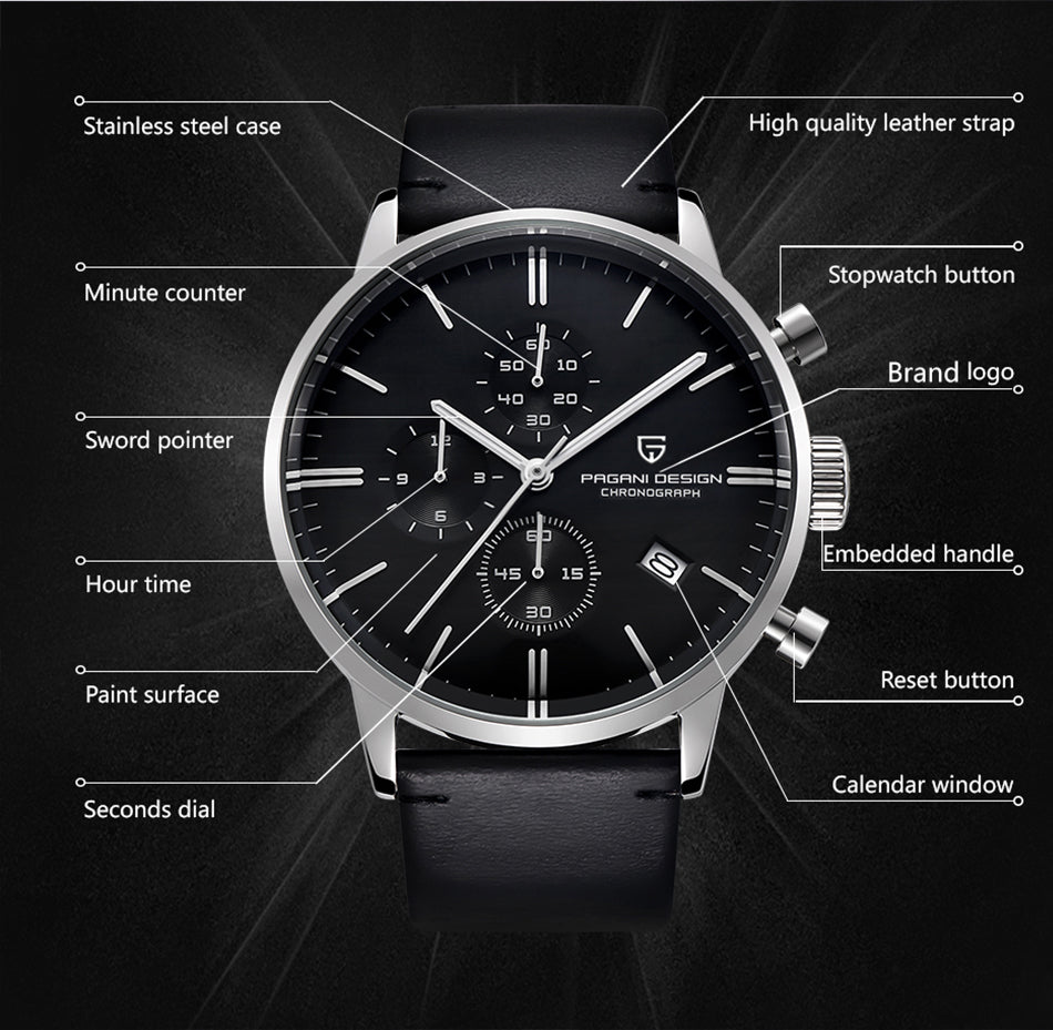PAGANI DESIGN - Men's Luxury Watch