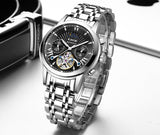 LIGE -  Men's Automatic Mechanical Watch