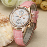 GUANQIN - Luxury Leather Women Wrist Watches
