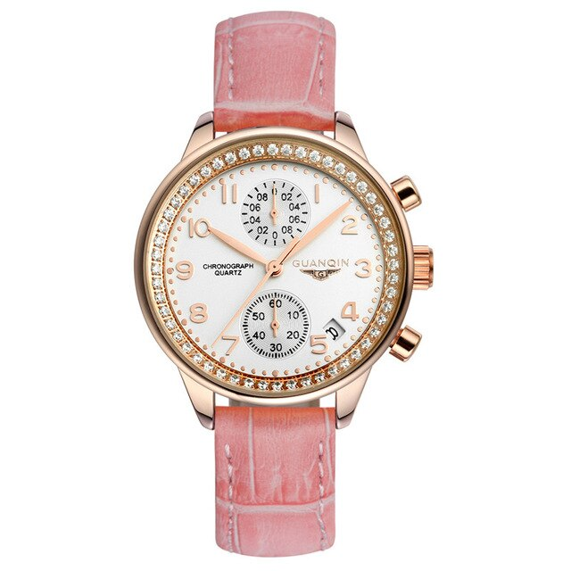 GUANQIN - Women's Luxury Leather Watch
