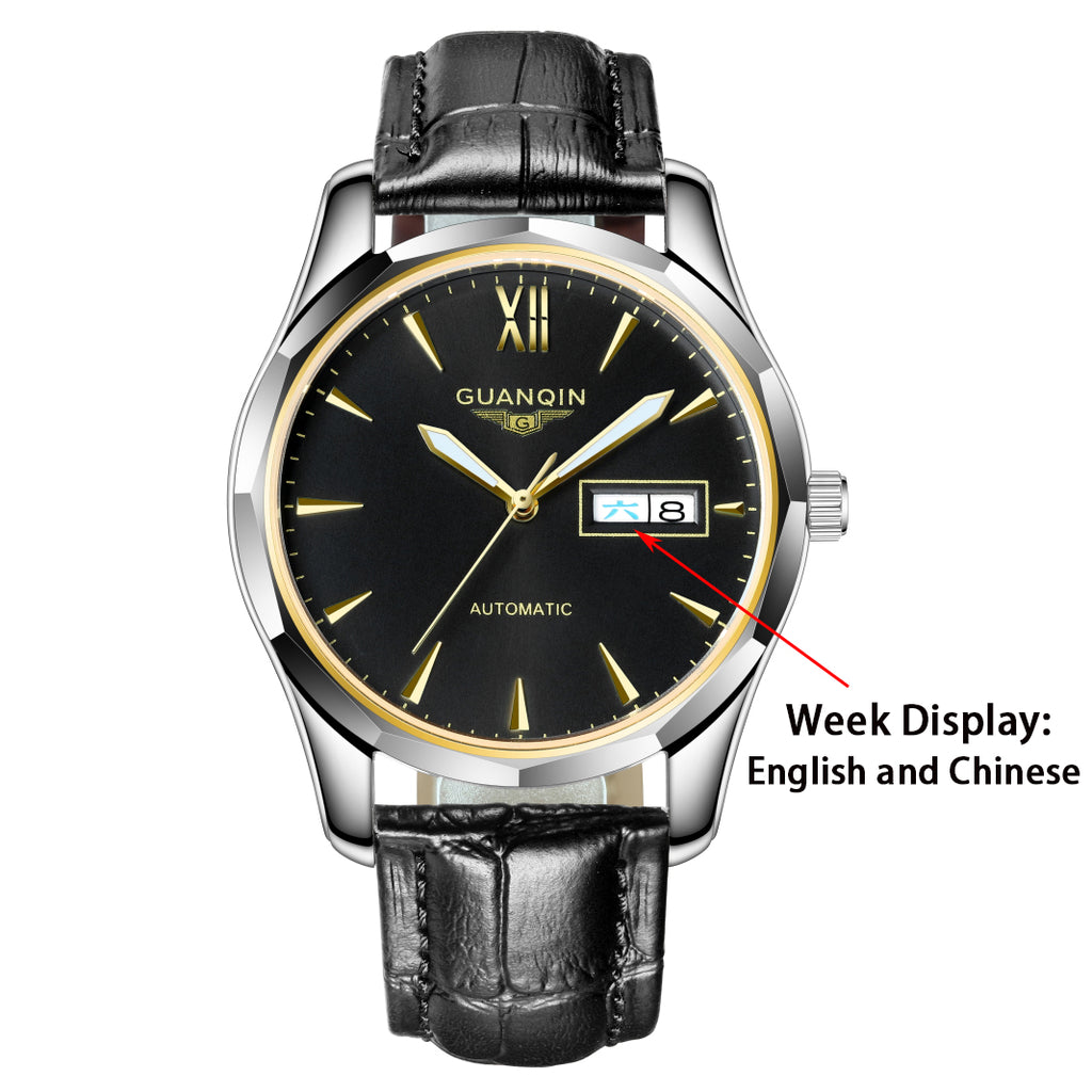GUANQIN - Men's Automatic Mechanical Watch