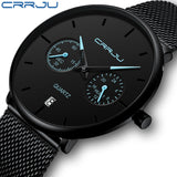 CRRJU - Men's Full Steel Watch