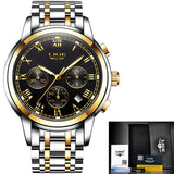 LIGE - Sport Chronograph Men Wrist Watches