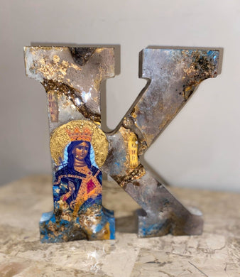 MADE TO ORDER LETTER ART - CUSTOM - WOODEN LETTERS FREE STANDING